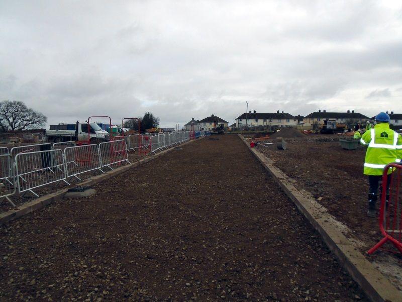 Housing Development - Roads & Sewers - Grant Ltd - Civil